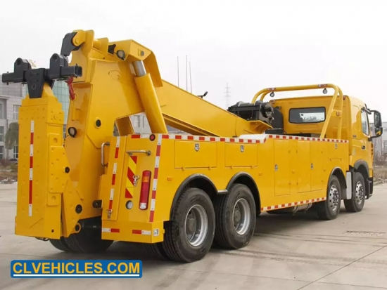 heavy duty integrated tow truck